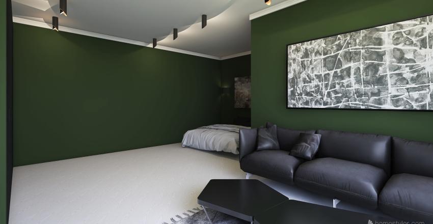 пкап Interior Design Render