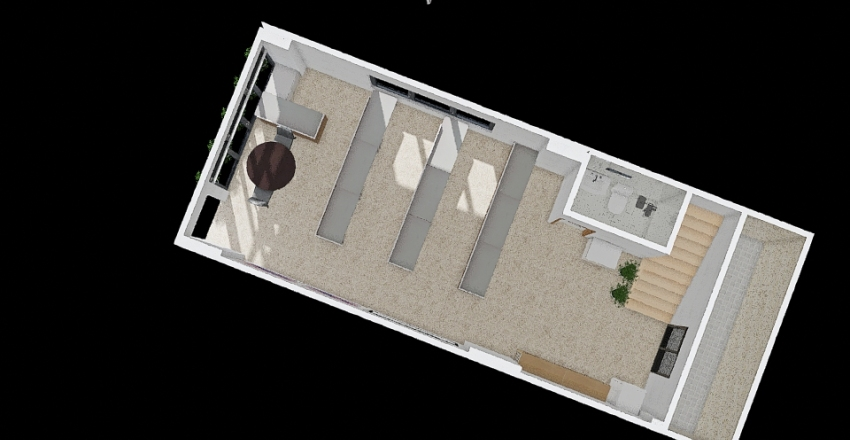 新市辦公室2 Interior Design Render