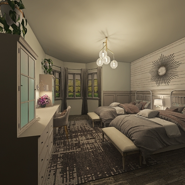 Avila's Room Interior Design Render