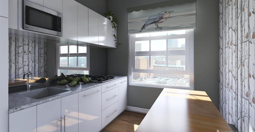 small kitchen design 1 Interior Design Render