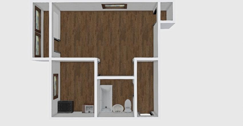 1-комн_021_8 Interior Design Render
