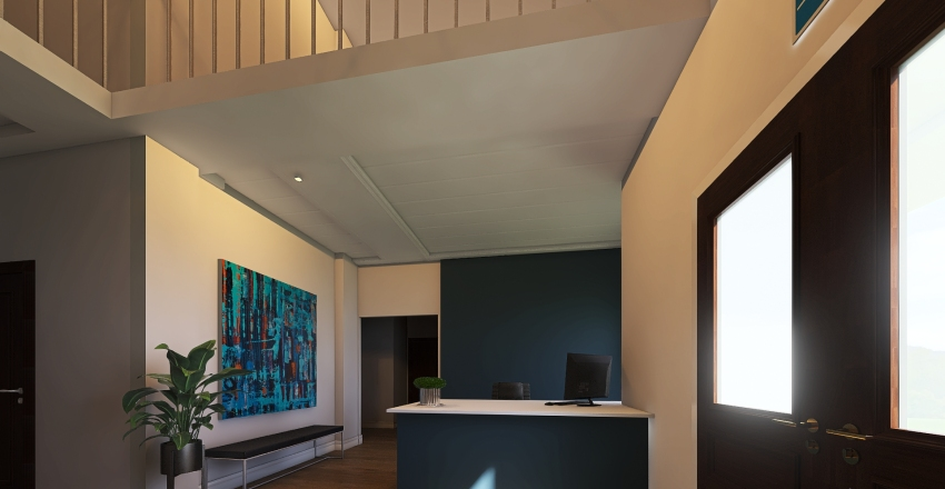 Building 30 Interior Design Render