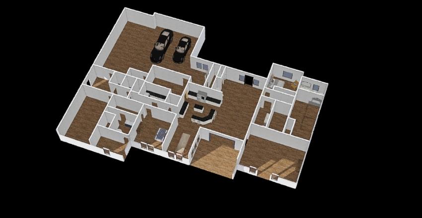 CS Final with furniture Interior Design Render