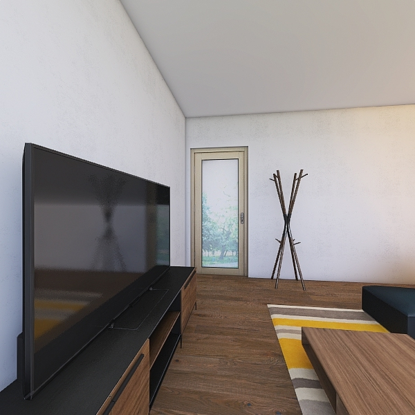 Piso Interior Design Render