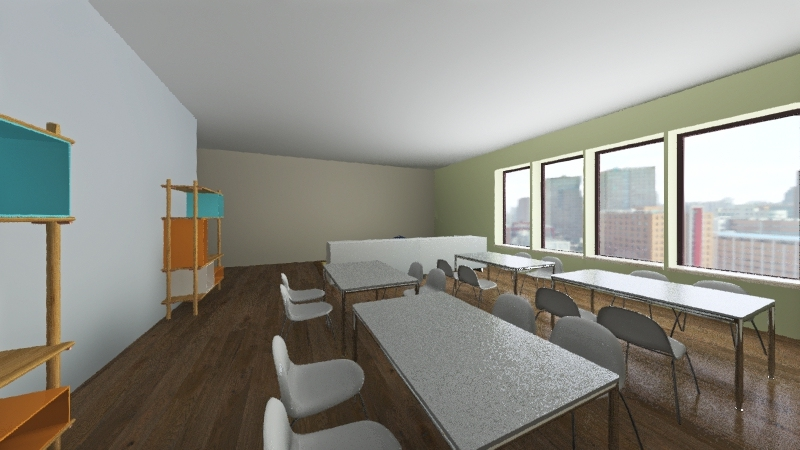 Daycare 2 Interior Design Render