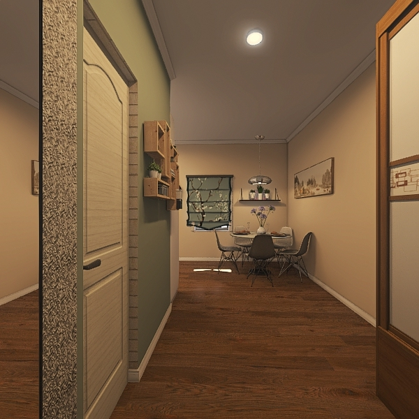 кухня Interior Design Render