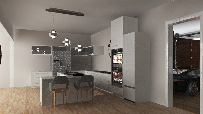 Client house test Interior Design Render