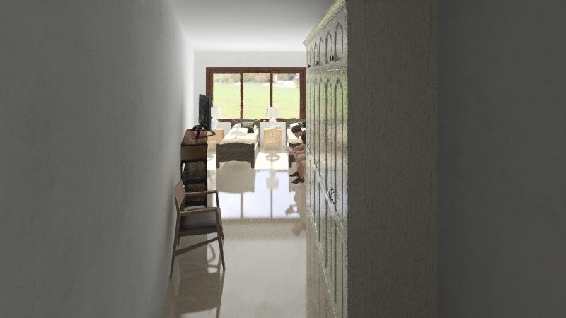 Habitación nueva Interior Design Render