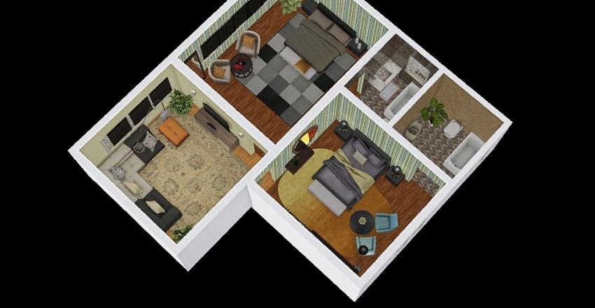 PROBACool house Interior Design Render