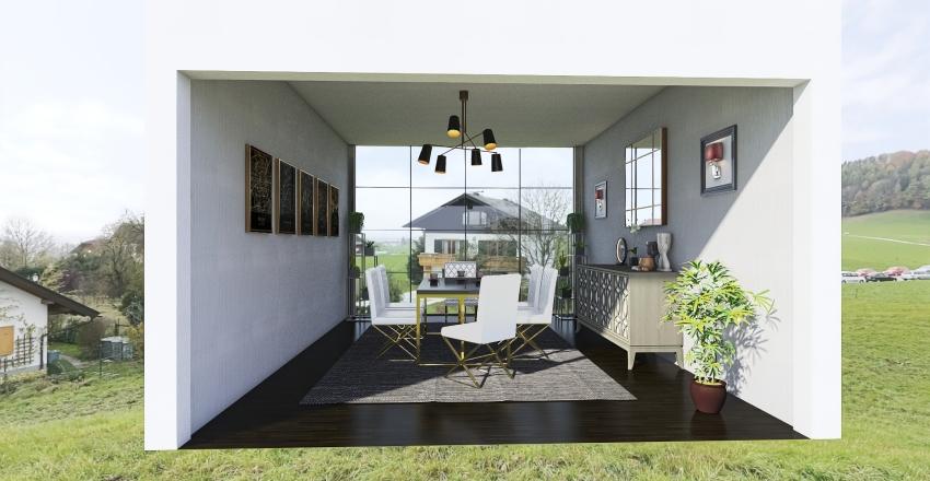 tarea comedor Interior Design Render