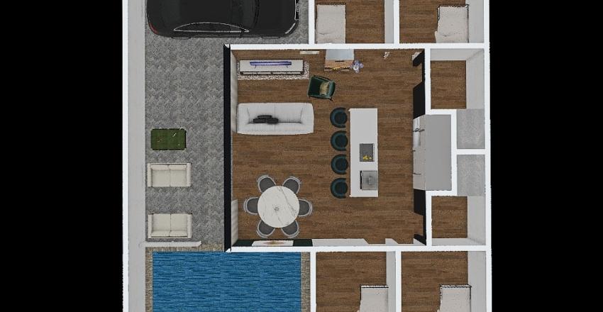 CAMPO COM CARRO Interior Design Render