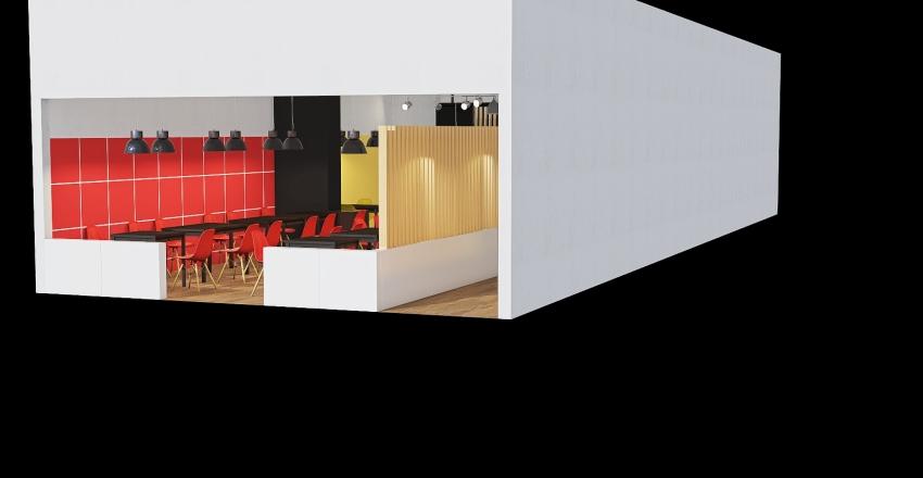 Тик-тайм Ленинградская_разное расположение Interior Design Render