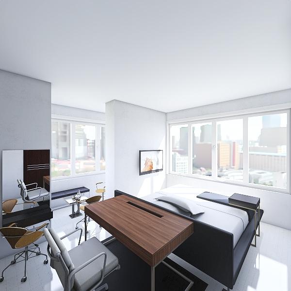2ND BEDRM B Interior Design Render