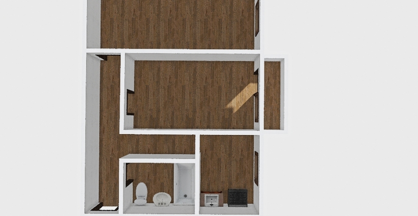 2-комн_001_60 Interior Design Render