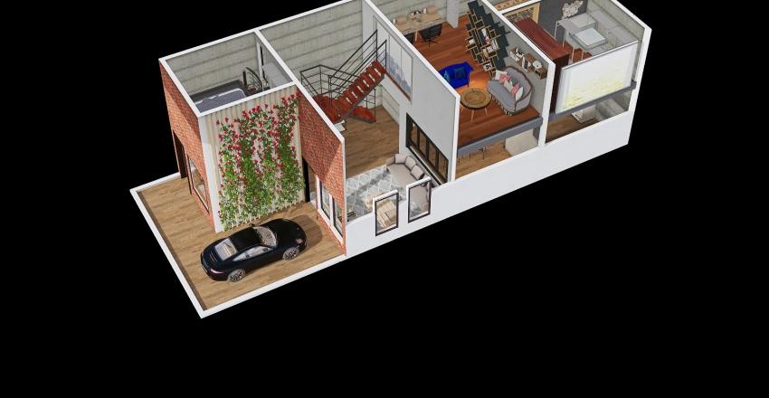 mezanin 2 Interior Design Render