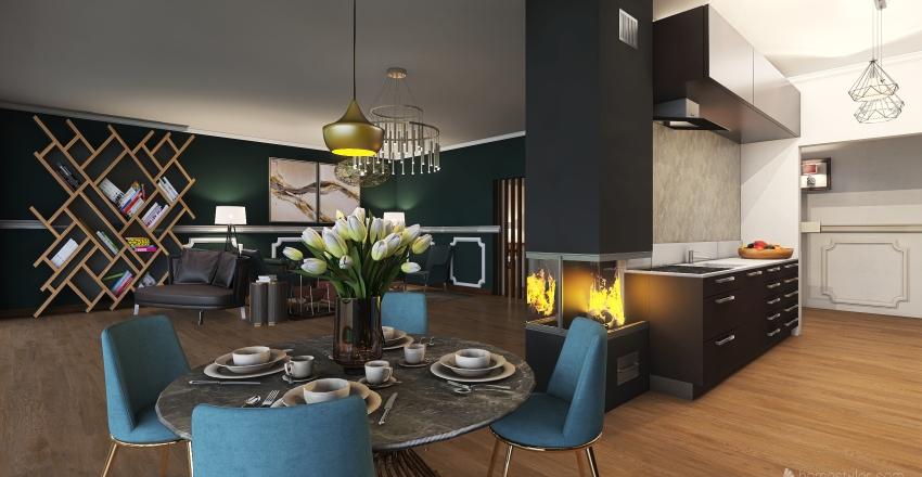 #HSDA2020Residential CONTAINER HOME Interior Design Render