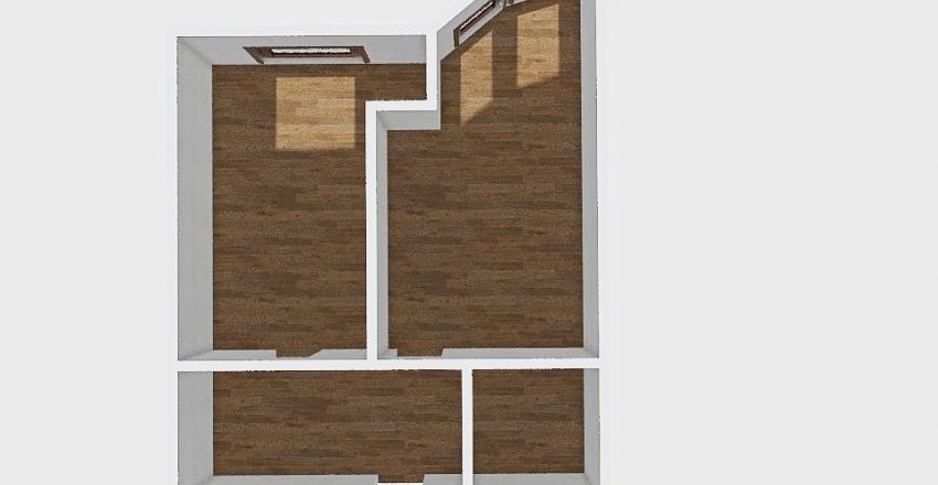 1-комн_0434 Interior Design Render