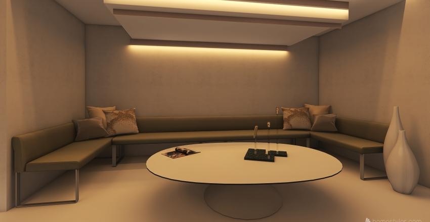 the lounge Interior Design Render