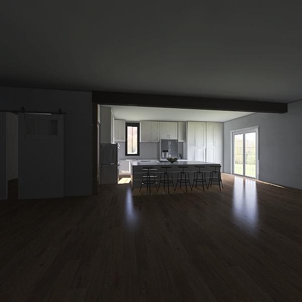 Harrison House Interior Design Render