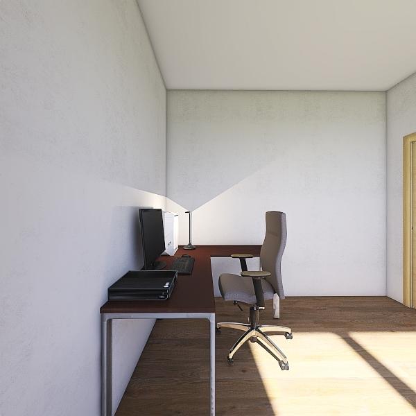 Living and room Interior Design Render