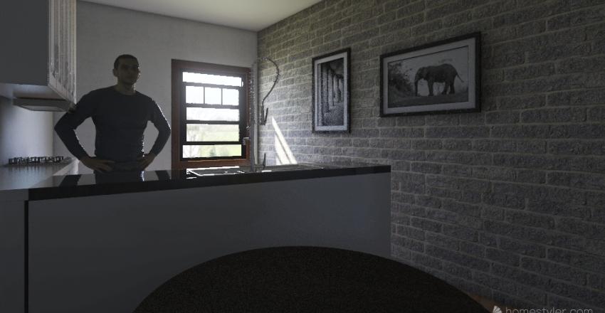 vigne colocation Interior Design Render
