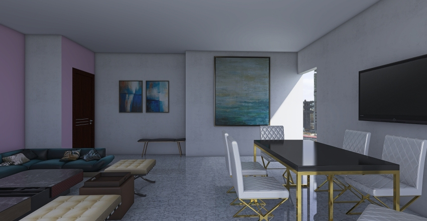 LANDS END LIVING A Interior Design Render