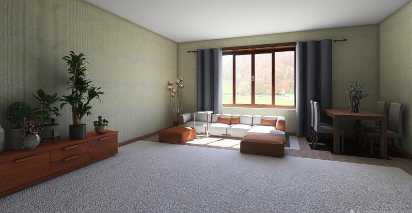 plan kvartiri 1variant Interior Design Render
