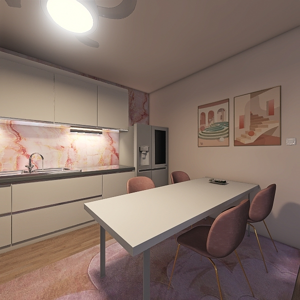 Danish Aesthetic Interior Design Render
