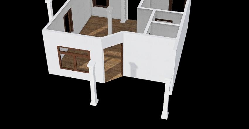 rumah kinan mini Interior Design Render