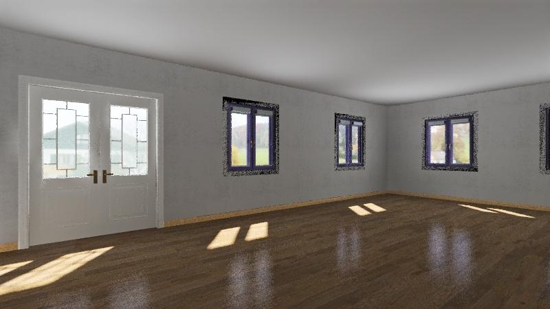 Учебная комната № 1 Interior Design Render