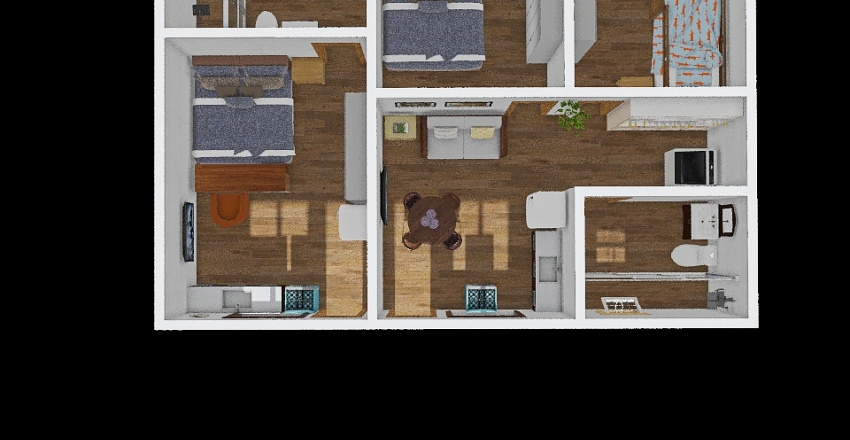 Anexo Selma Interior Design Render