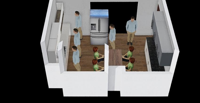 廚房 Interior Design Render