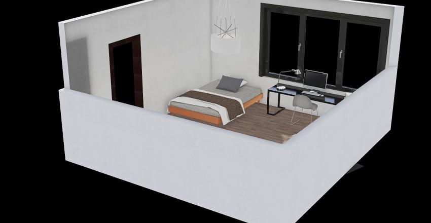 student Interior Design Render