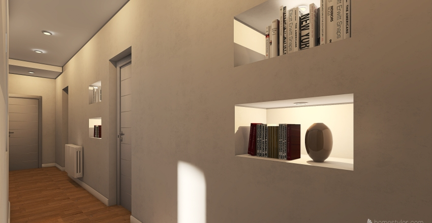 Via P. milano Interior Design Render