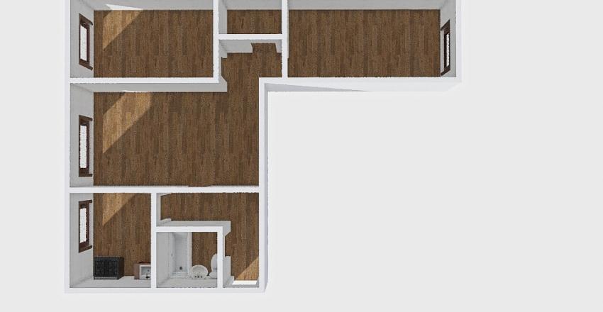 3-комн_071_9 Interior Design Render