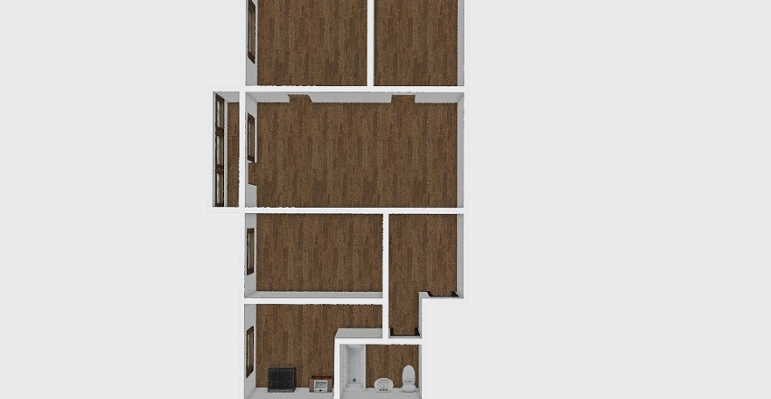 4-комн_003_16 Interior Design Render