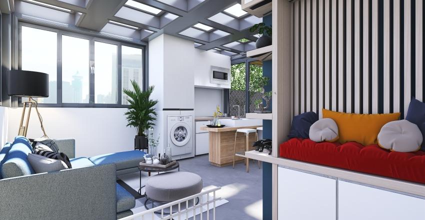 ROOF RICARDO Interior Design Render