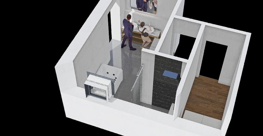 Koupelna_02 Interior Design Render