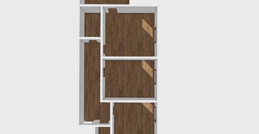 2-комн_0415 Interior Design Render