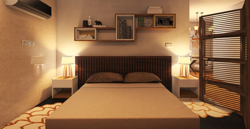 PROJECT 001 Interior Design Render