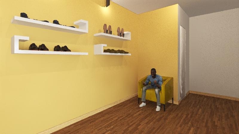 Lemon Jelly Interior Design Render