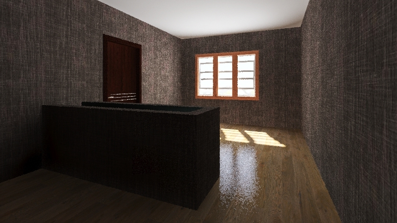 Dining room Interior Design Render
