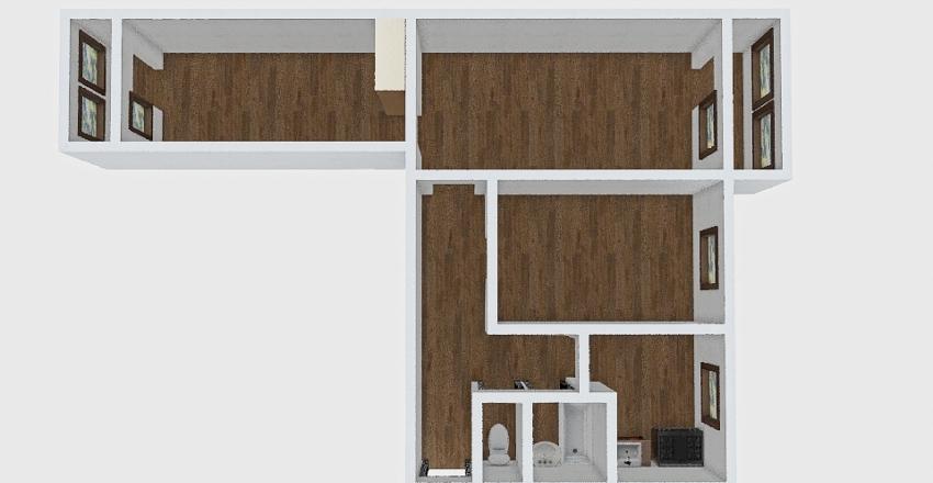 3-комн_018_14 Interior Design Render
