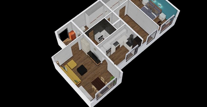 Havanská 2817 Interior Design Render