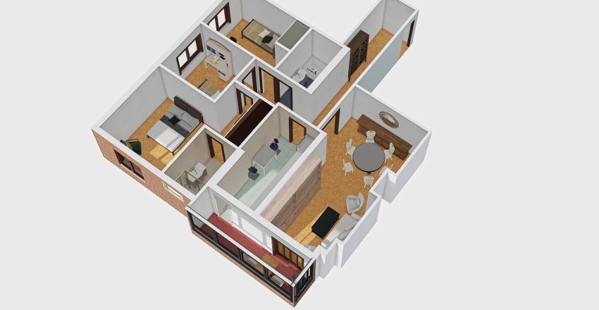 FMT-1-3 Interior Design Render