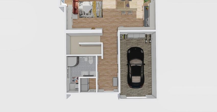 Křimická 17929 0NP levá Interior Design Render