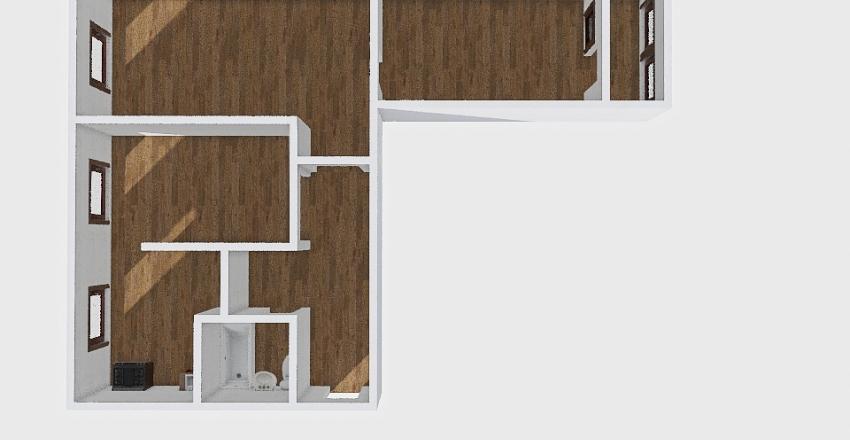 3-комн_018_15 Interior Design Render