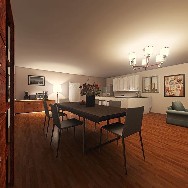 Rez-de-chaussée  Interior Design Render