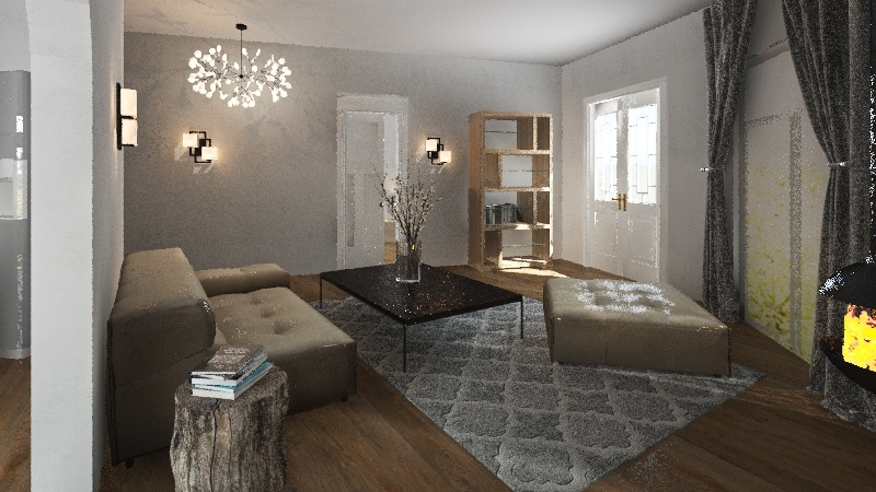 T505 Benji Naudin  Interior Design Render