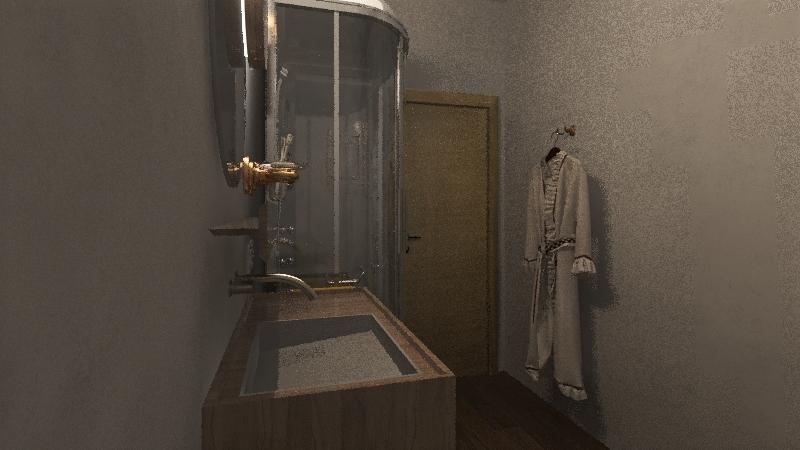 progetto bagno Yana Interior Design Render